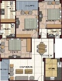 Photo 3BHK+3T (1,642 sq ft) Apartment in Butler...