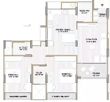 Photo 2BHK+2T (1,362 sq ft) Apartment in Vijay Nagar,...