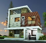 Photo 2BHK+2T (734 sq ft) + Pooja Room Villa in...