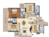 Photo 4BHK+4T (1,953 sq ft) Apartment in Sector 115...