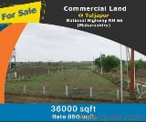 Photo 36000 Sq. ft Plot for Sale in Tuljapur, Osmanabad