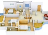 Photo 3BHK+3T (1,895 sq ft) Apartment in VIP Rd,...