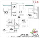 Photo 2BHK+3T (1,220 sq ft) Apartment in Borivali...