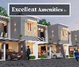 Photo Luxurious 3 bhk river view house for sale in...