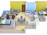 Photo 2BHK+2T (1,145 sq ft) Apartment in Raj Nagar...